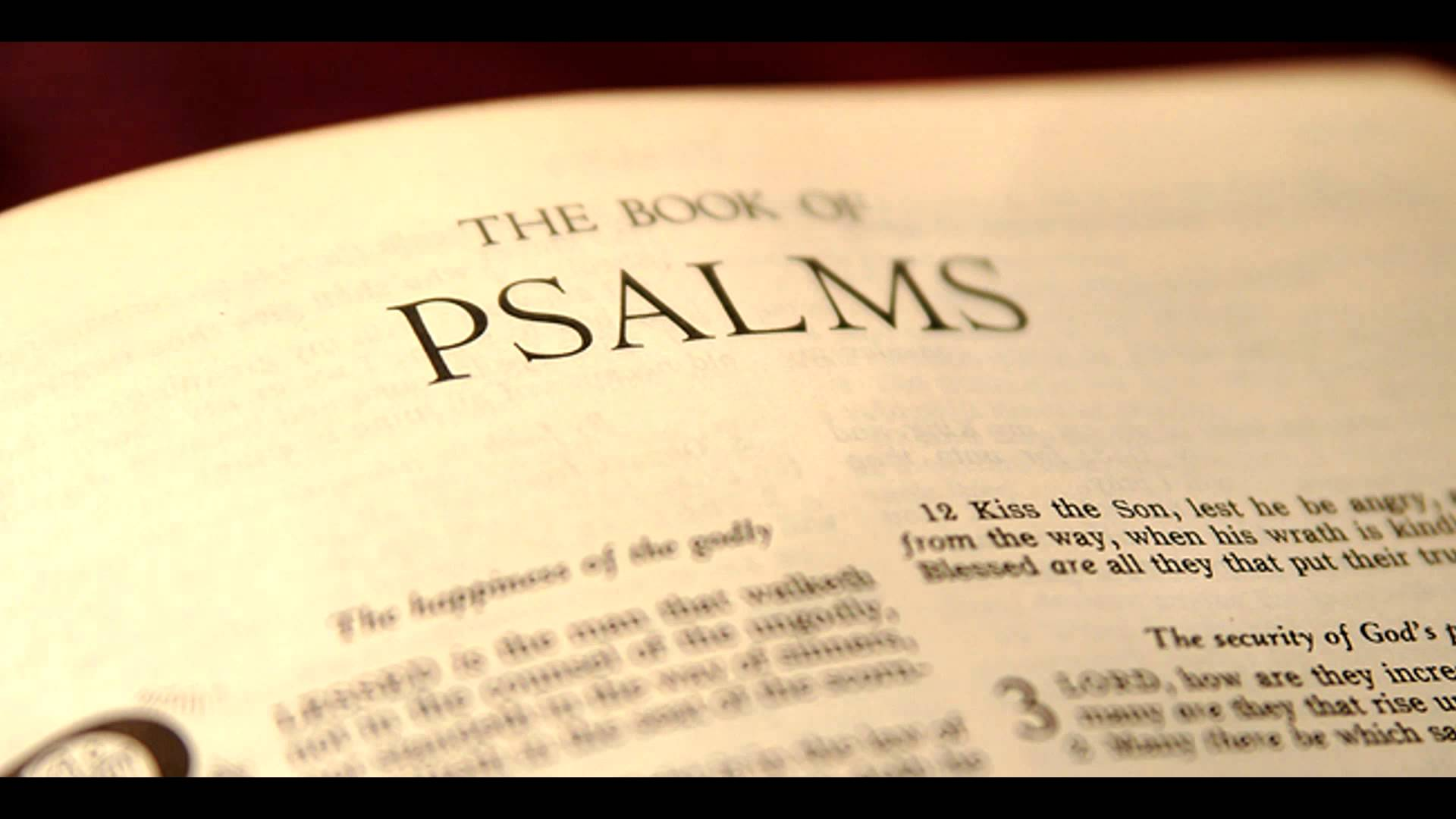 Psalm 1 – The Blessed Psalm