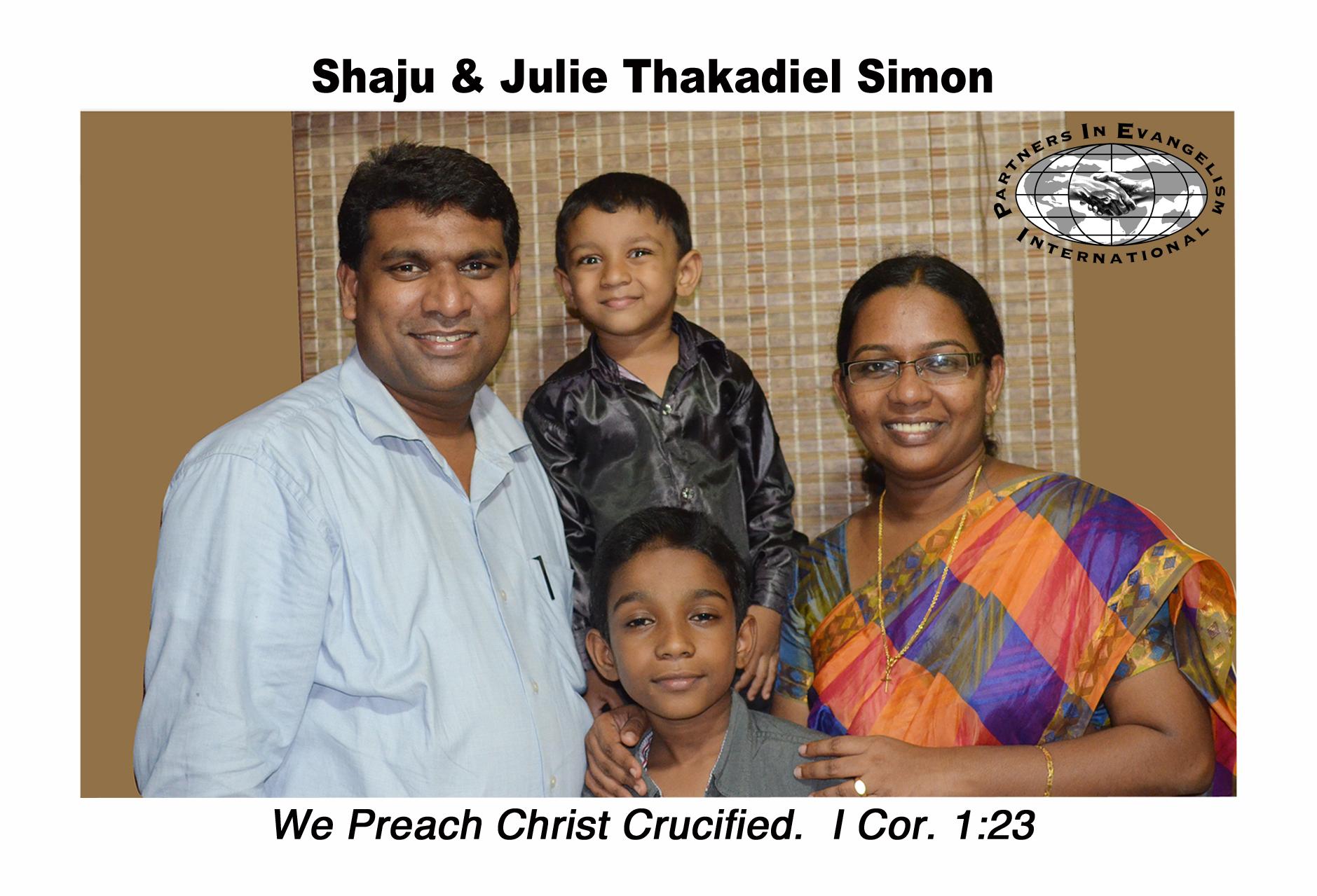 Mission Update – Rev. Shaju Simon – Partners in Evangelism International