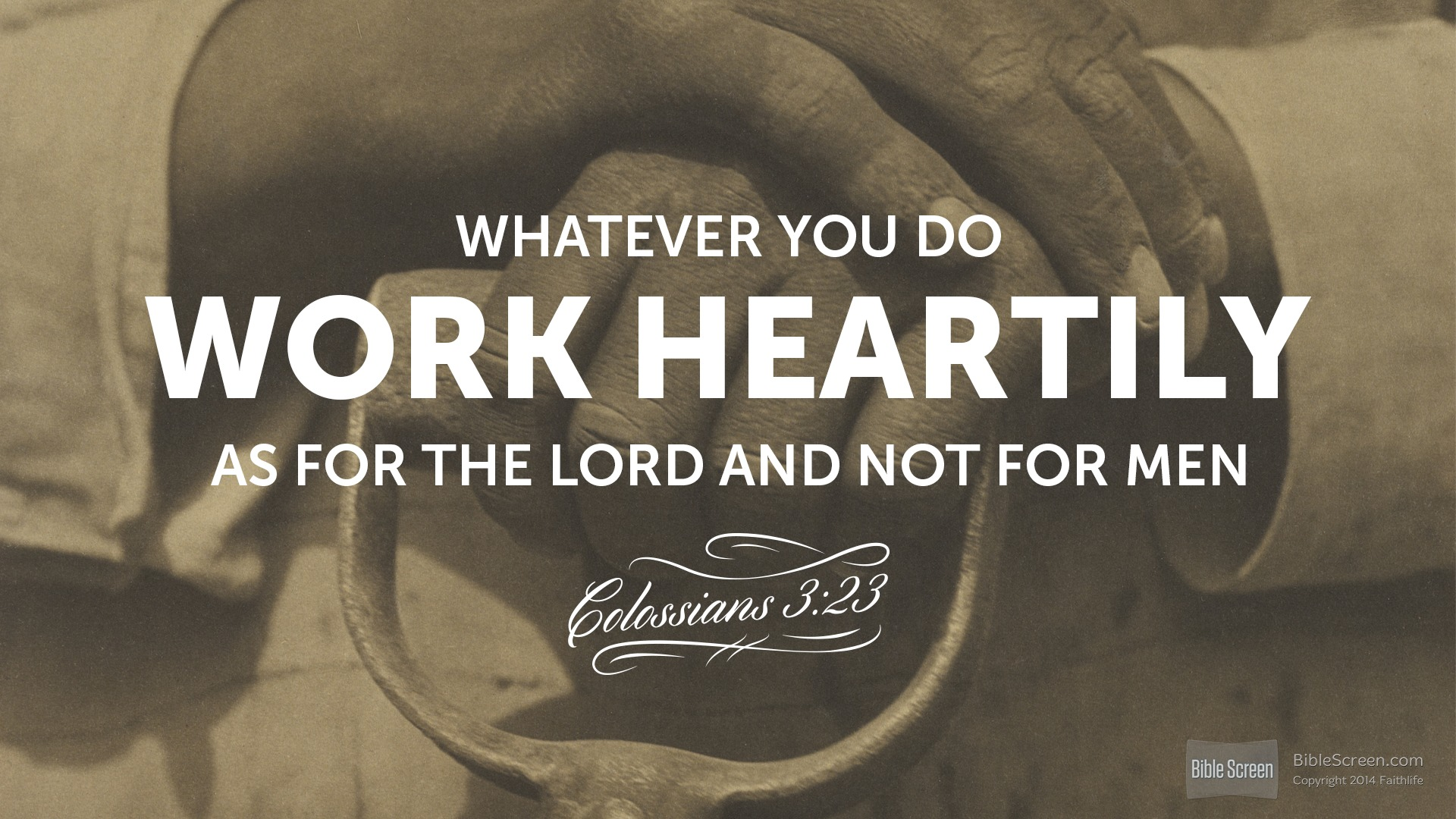Labor and the Lord